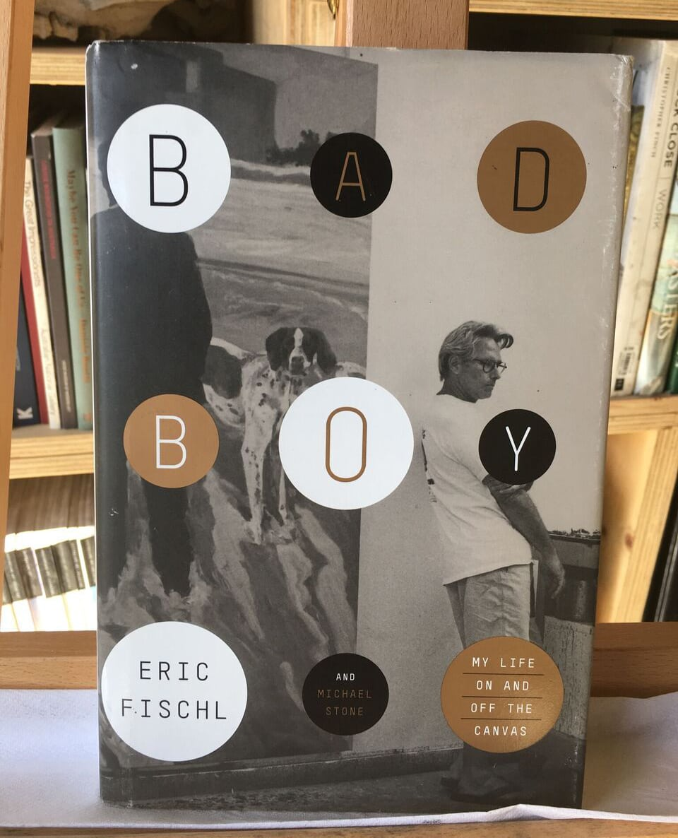 A recommendation from The Art Room library: Bad Boy: My Life On and Off the Canvas by Eric Fischl