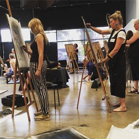Godwin Bradbeer class at The Art Room.