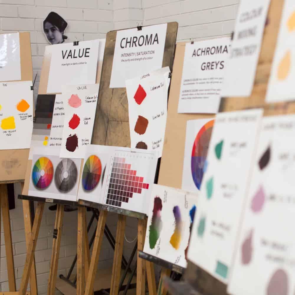 Last Places – Colour Mixing Workshop