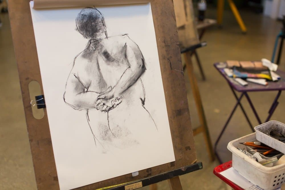 2 Life Drawing Sessions This Week!