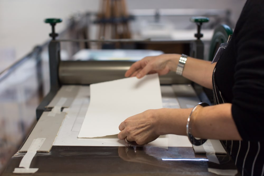 Last Places For Drypoint Printmaking
