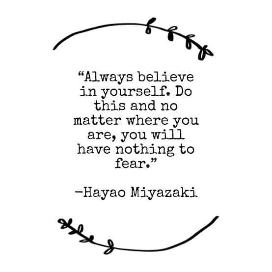Monday Inspiration From Hayao