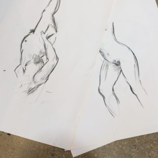 Casual Life Drawing At The Art Room