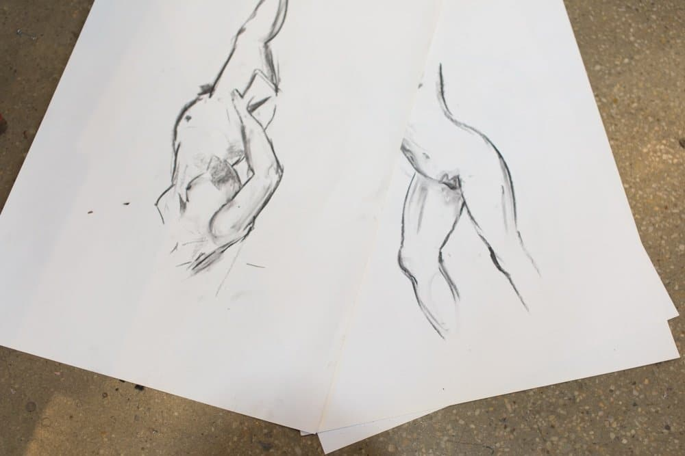 Casual Life Drawing At The Art Room