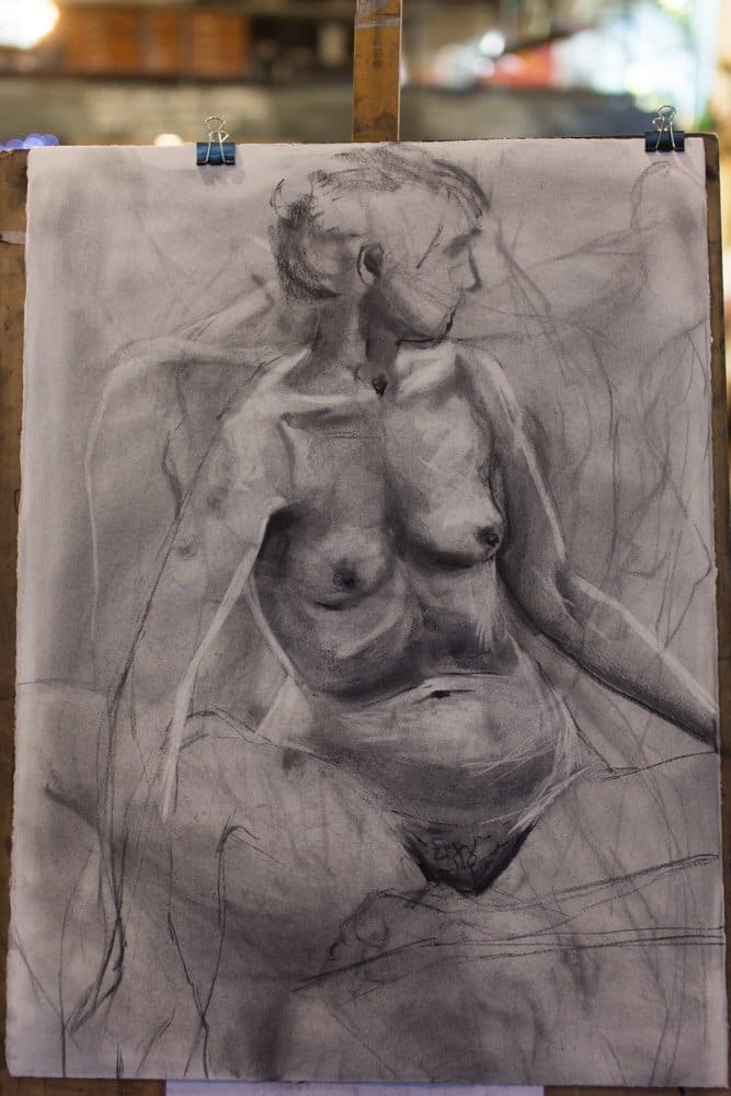 This Week – Lots Of Life Drawing!