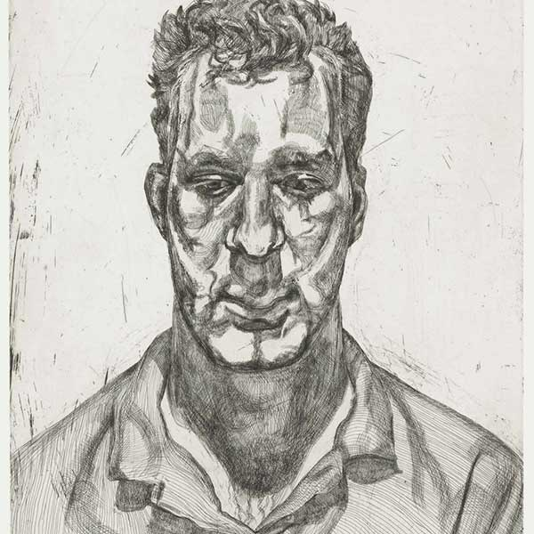 The Painter's Etchings by Lucian Freud