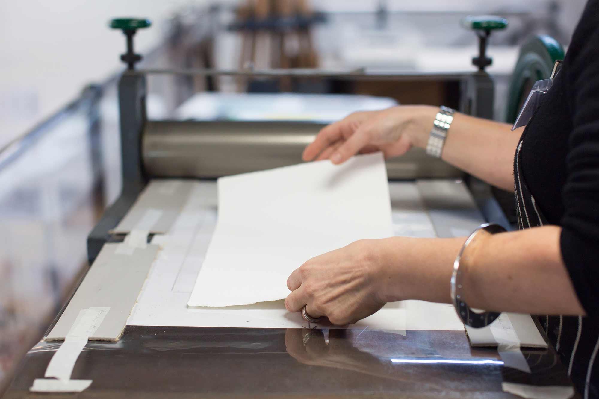Print Making Workshop at The Art Room, Melbourne