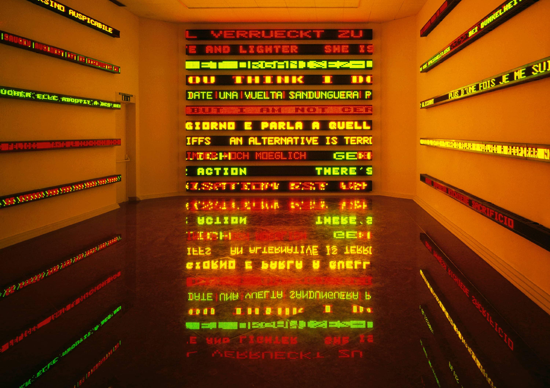 We Love – Jenny Holzer