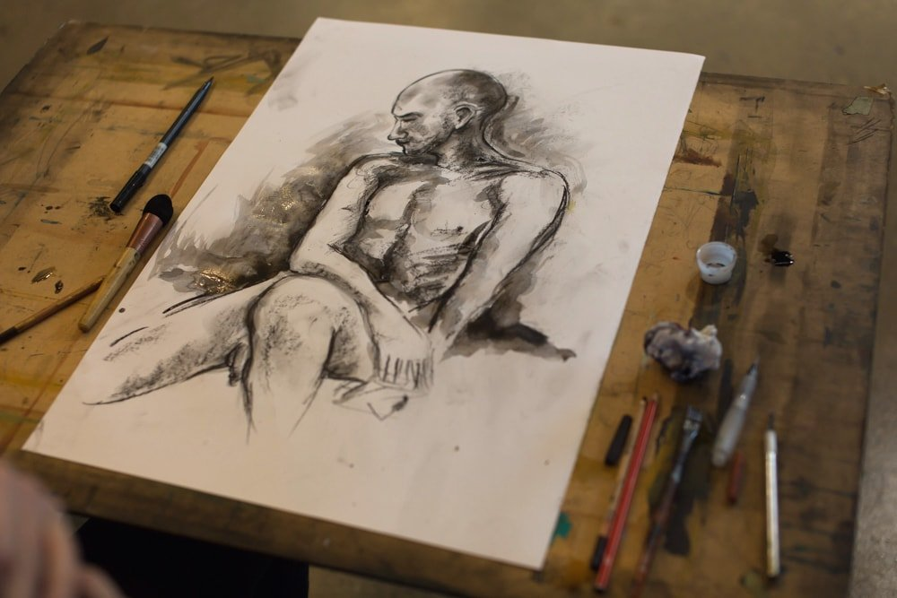 Life Drawing Sessions This Week
