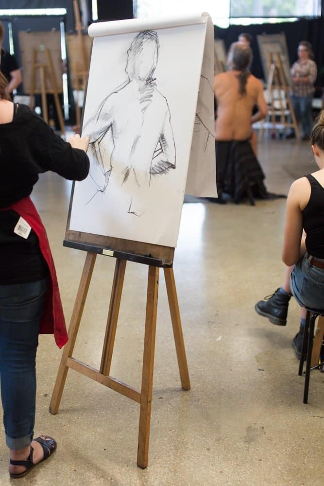 This Week's Life Drawing