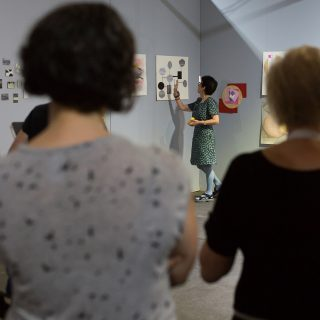Abstract Thinking Workshop With Artist Wilma Tabacco At The Art Room
