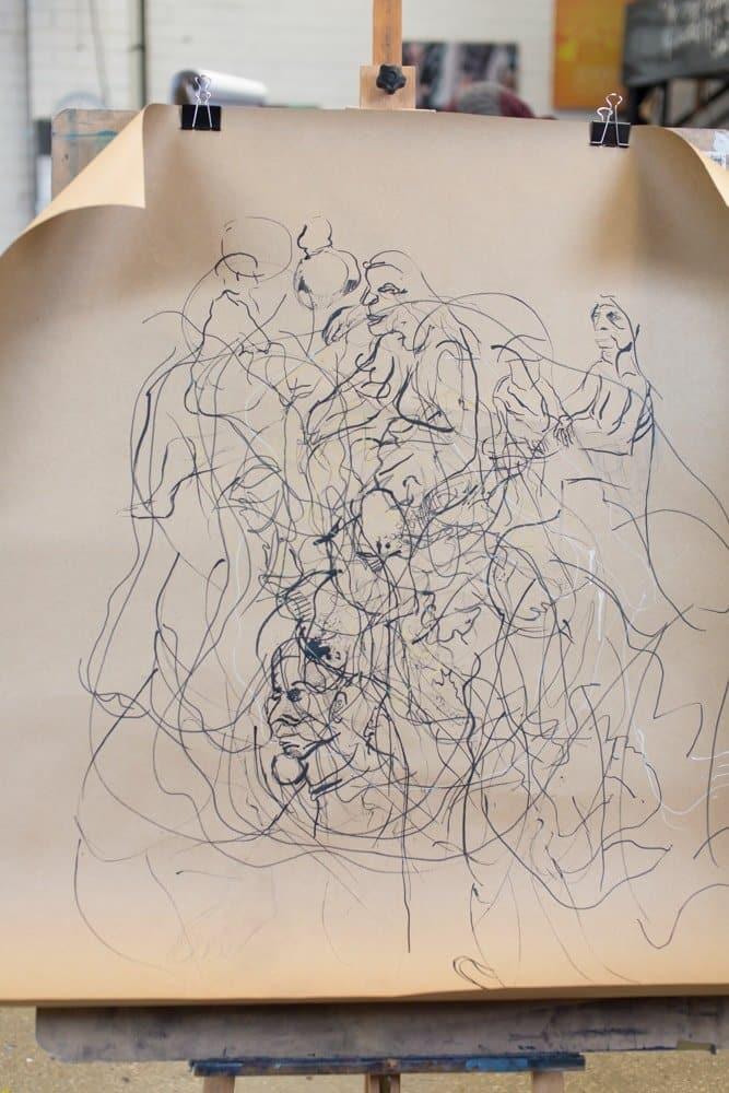 Casual Life Drawing