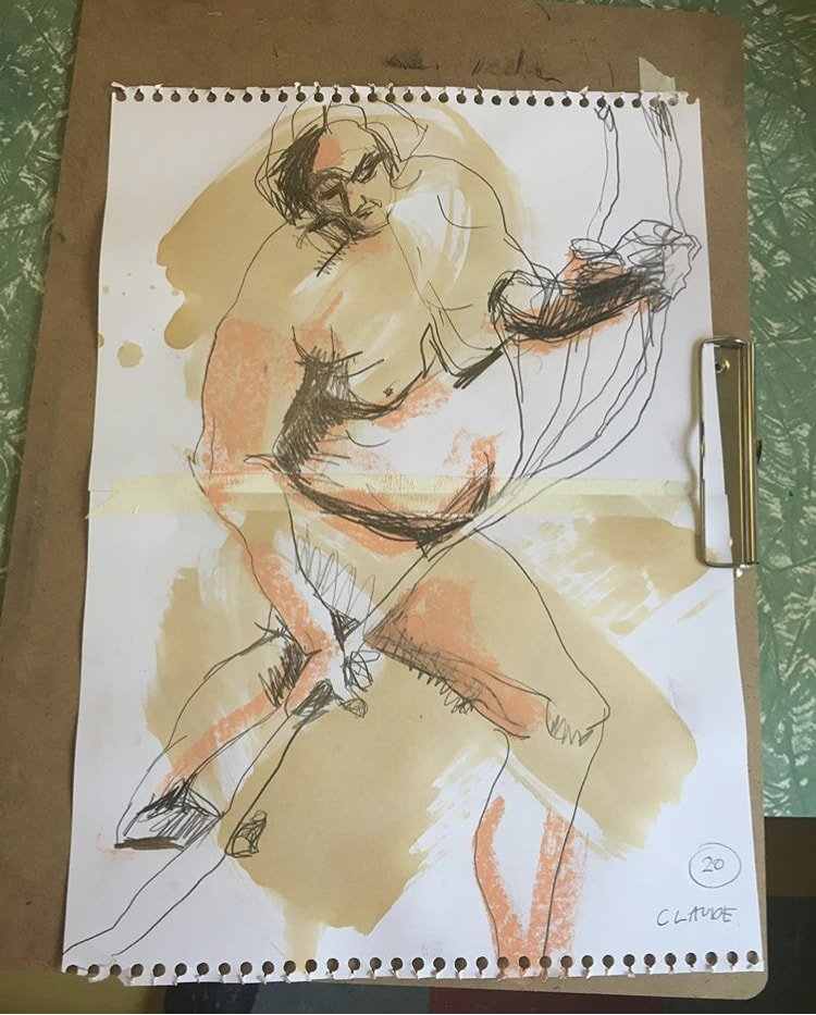 Online Life Drawing – 2 Sessions This Week